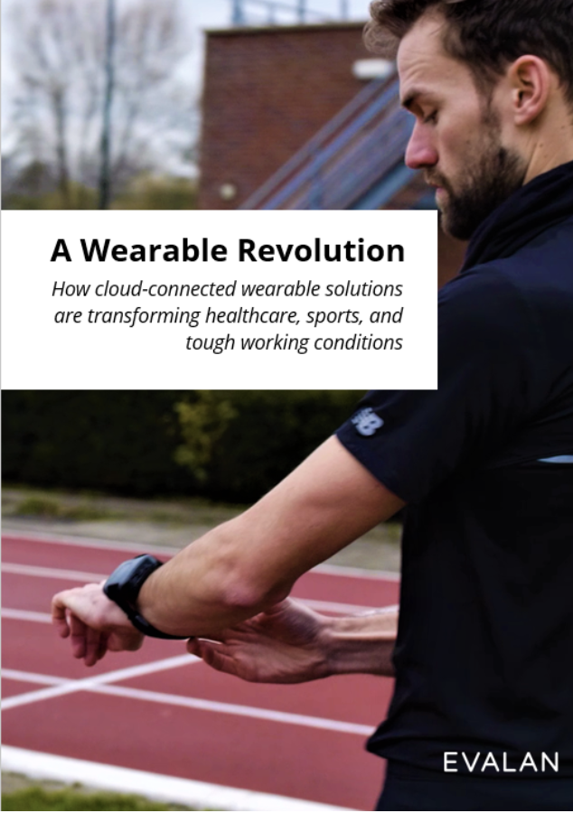 Cover of Evalan's 'A Wearable Revolution', whitepaper